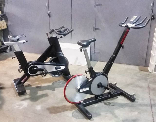 Used Spin Bikes - Star Trac & Keiser