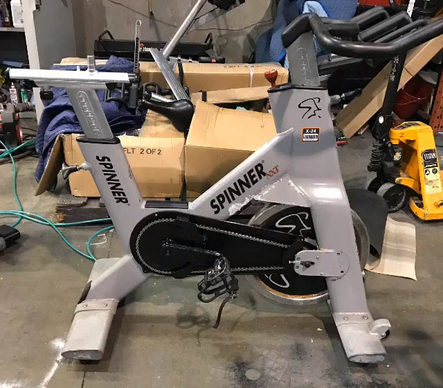 Fitness Equipment Refurbishing Services - Process